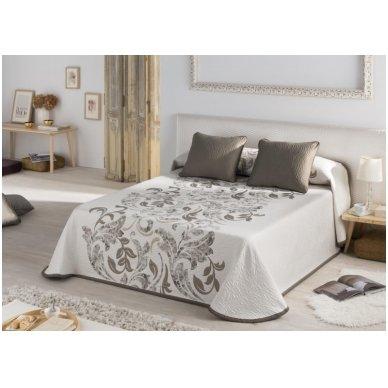 """Dvipusis lovos užtiesalas """"Evana"""", 250x270 cm (rusva) 2"""