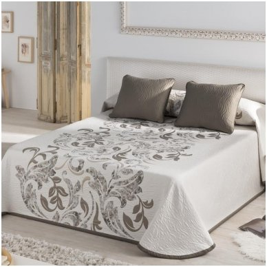 """Dvipusis lovos užtiesalas """"Evana"""", 250x270 cm (rusva)"""