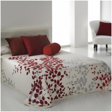 """Dvipusis lovos užtiesalas """"Geiša"""", 250x270 cm (raudona)"""