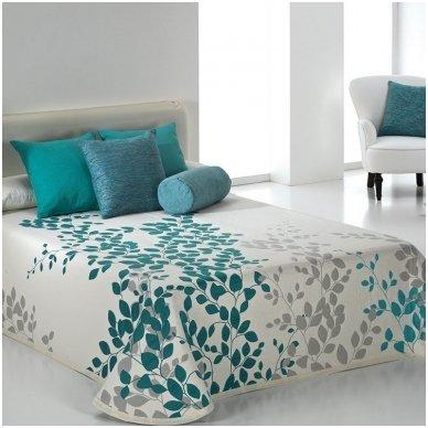 """Dvipusis lovos užtiesalas """"Geiša"""", 250x270 cm (turkio)"""