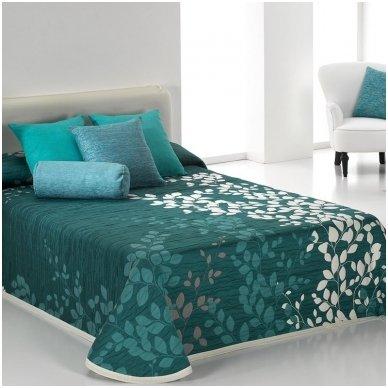 """Dvipusis lovos užtiesalas """"Geiša"""", 250x270 cm (turkio) 2"""