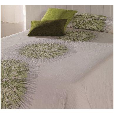"Dvipusis lovos užtiesalas ""Green"", 250 x 270 cm. 2"