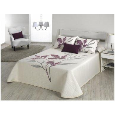 """Dvipusis lovos užtiesalas """"Leave"""", 250x270 cm 2"""