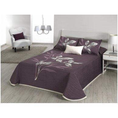 """Dvipusis lovos užtiesalas """"Leave"""", 250x270 cm 3"""