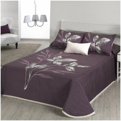 """Dvipusis lovos užtiesalas """"Leave"""", 250x270 cm"""