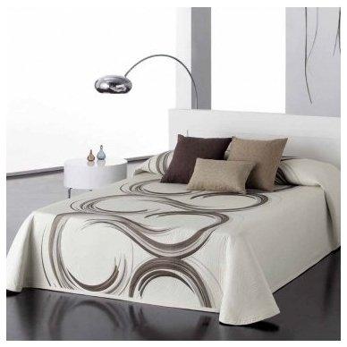 """Dvipusis lovos užtiesalas """"Šokolado Spalvos"""", 250x270 cm 2"""