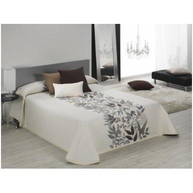 """Dvipusis lovos užtiesalas """"Taba"""", 250x270 cm (kapučino) 3"""