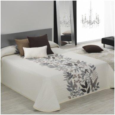 """Dvipusis lovos užtiesalas """"Taba"""", 250x270 cm (kapučino)"""