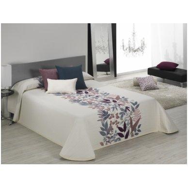 """Dvipusis lovos užtiesalas """"Taba"""", 250x270 cm (violetinė) 2"""