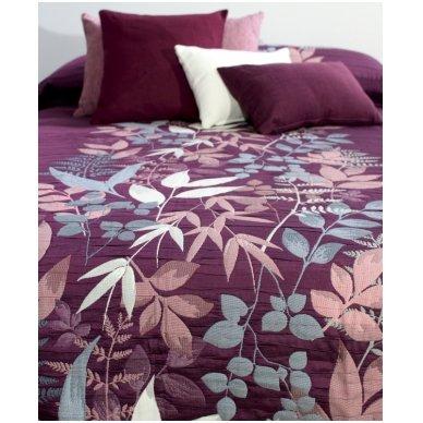 """Dvipusis lovos užtiesalas """"Taba"""", 250x270 cm (violetinė) 3"""