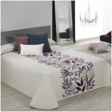 """Dvipusis lovos užtiesalas """"Taba"""", 250x270 cm (violetinė)"""