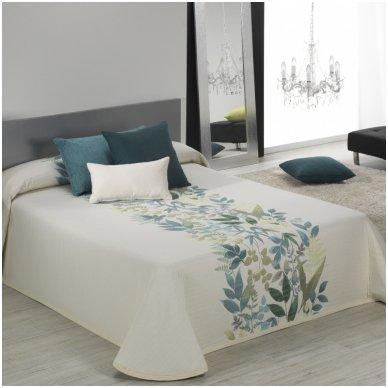 """Dvipusis lovos užtiesalas """"Taba"""", 250x270 cm (žalsva)"""