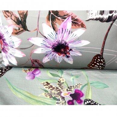 """Dvipusis patalynės komplektas """"Butterfly Effect"""" (grey) 5"""