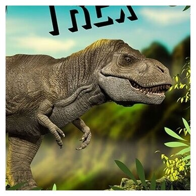 "Dvipusis patalynės komplektas ""Dino"", 140x200 cm 2"