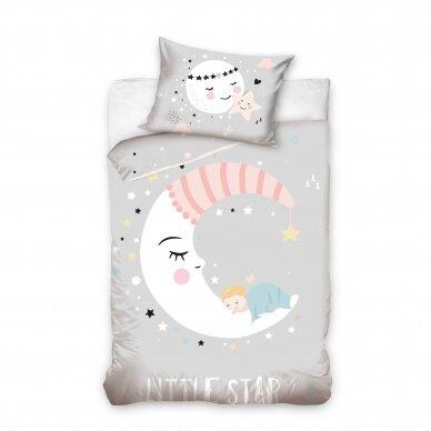 """Dvipusis patalynės komplektas """"Little Sleep"""", 100x135 cm"""