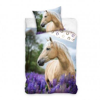 "Dvipusis patalynės komplektas ""Beautiful Horse"", 140x200 cm"