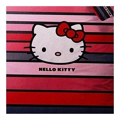 "Dvipusis patalynės komplektas ""Hello Kitty"", 140x200 cm 2"