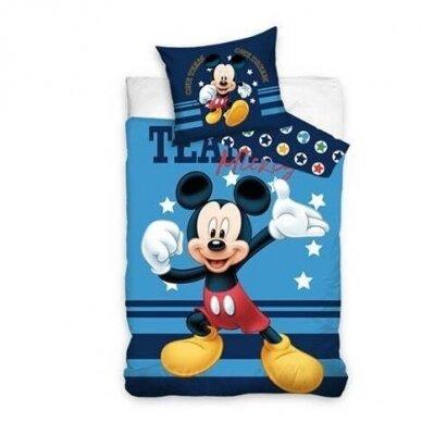 "Dvipusis patalynės komplektas ""Mickey Mouse"", 140x200 cm"