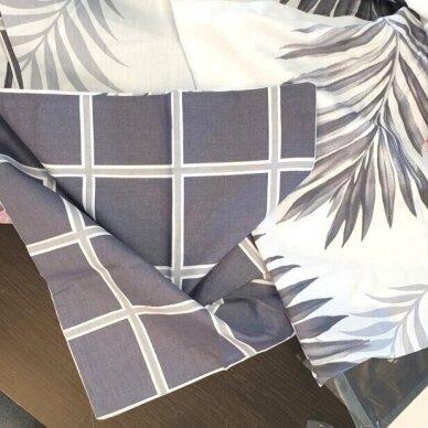"""Dvipusis patalynės komplektas """"Tropikų gėlės"""", 4 dalių, 200x220 cm 3"""