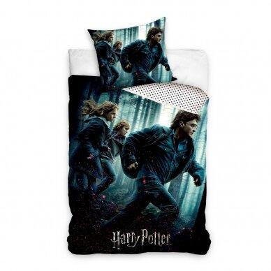 "Dvipusis patalynės komplektas ""Harry Poter and the Friends"", 140x200 cm"