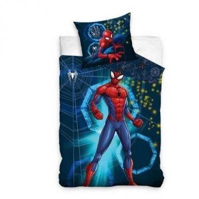 "Dvipusis patalynės komplektas ""Spiderman"", 140x200 cm"