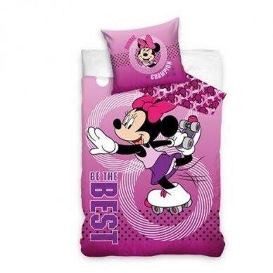 "Dvipusis patalynės komplektas ""Minnie Mouse"", 140x200 cm"