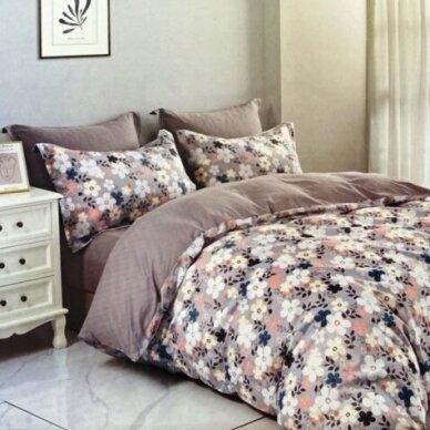 """Dvipusis patalynės komplektas """"Mažosios gėlytės"""", 3 dalių, 200x220 cm"""