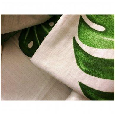 """Dvipusis patalynės komplektas """"Tropikų spalvos"""", 3 dalių, 200x220 cm 4"""
