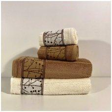 """Keturių rankšluosčių rinkinys """"Bamboo"""""""