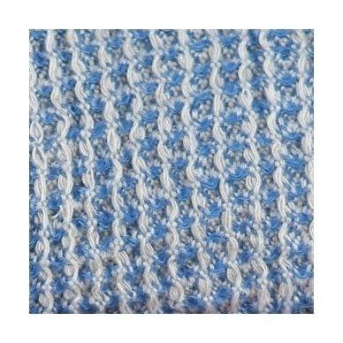"""Lininis pledas """"Blue"""", 140x200 cm 3"""