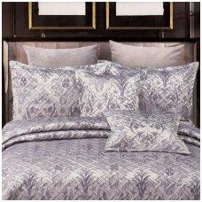 """Lovatiesė """" Pilkšvai violetiniai sidabro kerai"""", 220x240 cm (su užvalkaliukais)"""