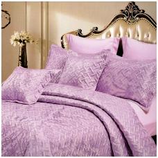 """Lovatiesė """"Violetinė Iliuzija"""", 220x240 cm (su užvalkaliukais)"""