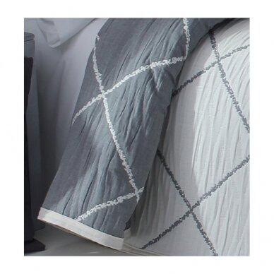 "Dvipusė lovatiesė ""Damira"", 250x270 cm (pilka) 3"