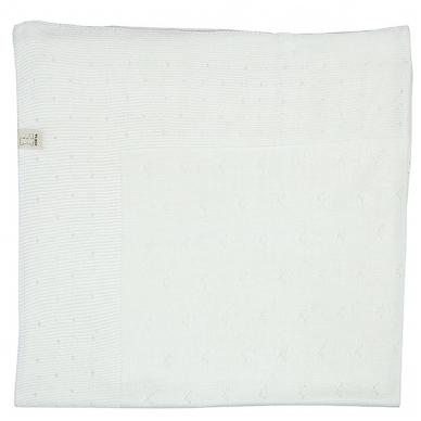 "Pledas ""Balta snaigė"", 100x110 cm 2"