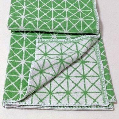 """Medvilninis pledas """"Green"""", 140x205 cm (dvipusis) 3"""