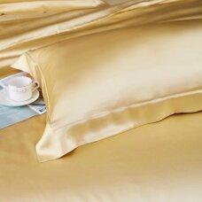 Mulberry šilko pagalvės užvalkalas (geltona), 22 momai (M/M)