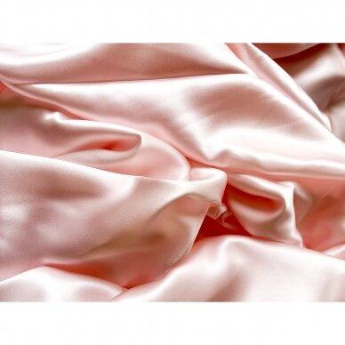 Mulberry šilko pagalvės užvalkalas (švelniai rožinė), 22 momai (M/M) 3