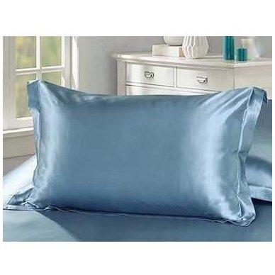 Mulberry šilko pagalvės užvalkalas (šviesiai mėlyna), 19 momų (M/M)