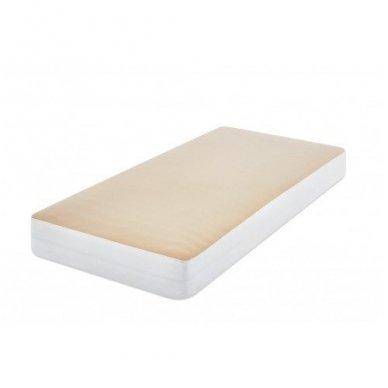 Neperšlampanti paklodė su guma (smėlio) 2