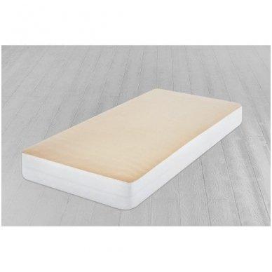 Neperšlampanti paklodė su guma (smėlio) 3