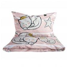 """Patalynės komplektas """"Katinėlio miegas"""""""