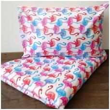 """Patalynės komplektas """"Flamingai"""""""