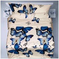 """Patalynės komplektas """"Laimės drugeliai"""""""