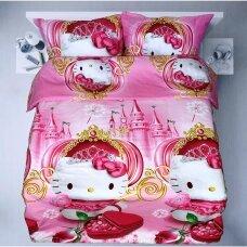 """Patalynės komplektas """"Hello Kitty Gold"""""""