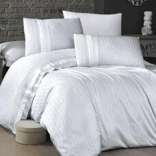 """Patalynės komplektas """"New Trend Beyaz"""", 6 dalių, 200x220 cm"""