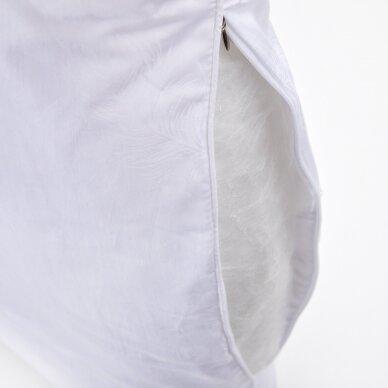 Pagalvė su 100% natūralaus šilko užpildu, 70x70 cm 2