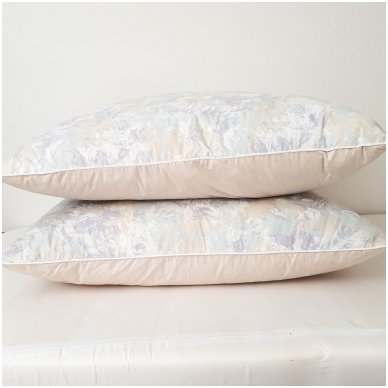 Žąsų pūkų ir plunksnų pagalvė (15%-pūkų, 85%-plunksnų), 50x70 cm 3
