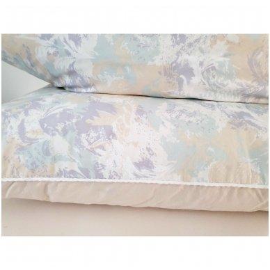 Žąsų pūkų ir plunksnų pagalvė (15%-pūkų, 85%-plunksnų), 68x68 cm 4