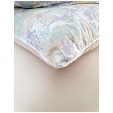 Žąsų pūkų ir plunksnų pagalvė (15%-pūkų, 85%-plunksnų), 68x68 cm 5