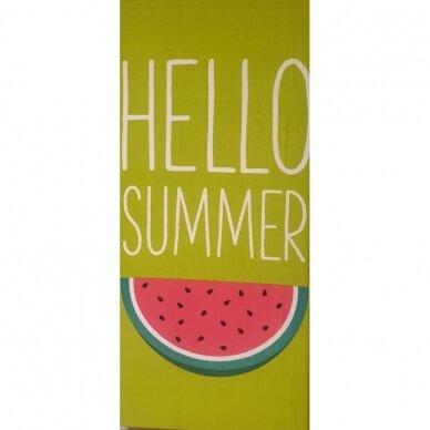 "Paplūdimio rankšluostis ""Hello Summer"""
